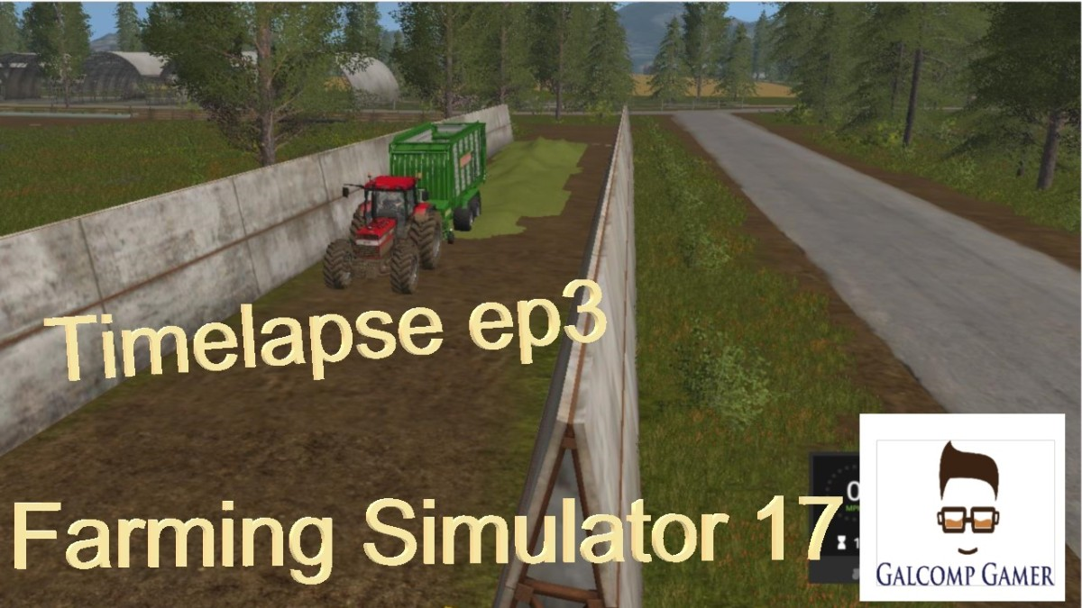 farming simulator 2017 timelapse silage| ep3 |Thunder Valley | part1